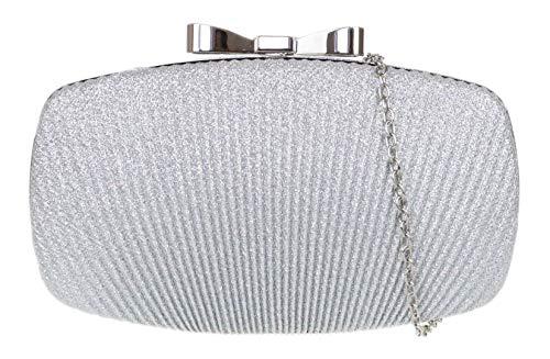 lischer Bogen Clutch Bag - SilberSilber ()