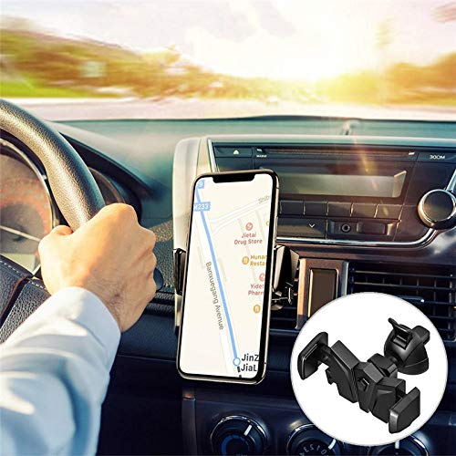 K8U151 @FATO Universal 360 Degree Rotation Car Air Vent Holder Bat Mount Phone Stand Bracket for iPhone 8 Samsung - Swivel Mount Dock