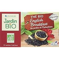 Jardin Bio Thé Noir Breakfast Bio 20 Sachets 30 g - Lot de 6