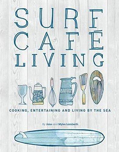 Surf Café Living: Eat, Live, Inspire - Cafe Stock