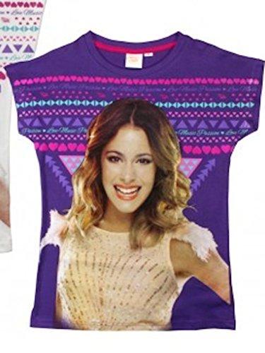 t-shirt-disney-violetta-gr-122-bis-152-fur-madchen-kinder-farben-weiss-o-lila-martina-stoessel-chann