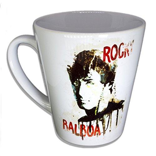 Rocky Balboa - Handarbeit Designer Tasse aus brillanten Porzellan Unikat - Tasse, Becher,...