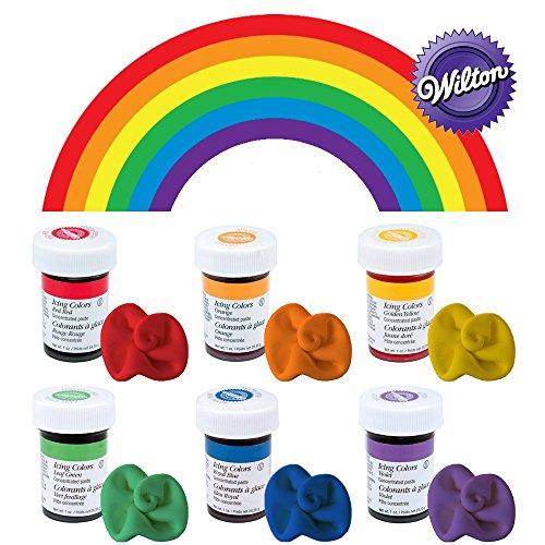 wilton-icing-colour-gel-paste-rainbow-colours-set-6-x-28g-pots