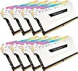 Corsair Vengeance RGB PRO - Kit de Mémorie Enthousiaste (64Go (8x8Go), DDR4,...