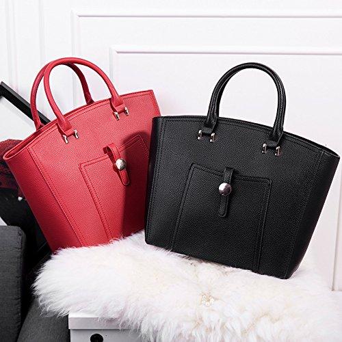 X&L Frauen's Mode Tasche Handtasche Schulter Diagonale Tasche Red