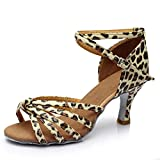 Femme Chaussures De Danse Latine Chaussures De Danse Juste Indoor Chaussures De Danse En Satin Fond Mou