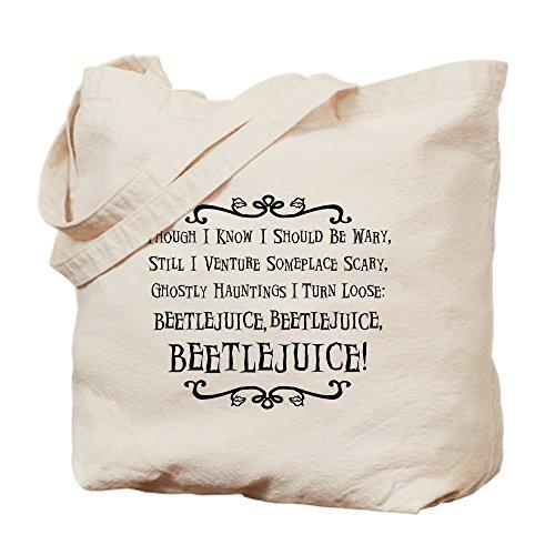 CafePress Beetlejuice Tragetasche, canvas, khaki, -