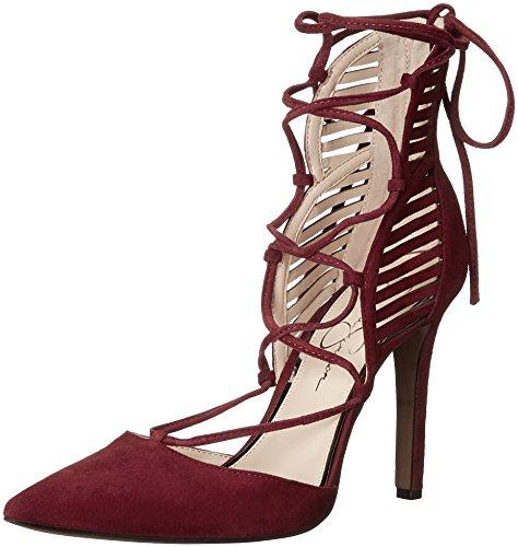 Jessica Simpson - Cynessa para Mujer, Rojo (Rojo (Port Red)), 5 B(M) US
