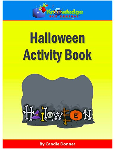 (Halloween Activity Book: Plus FREE Printable Ebook (English Edition))