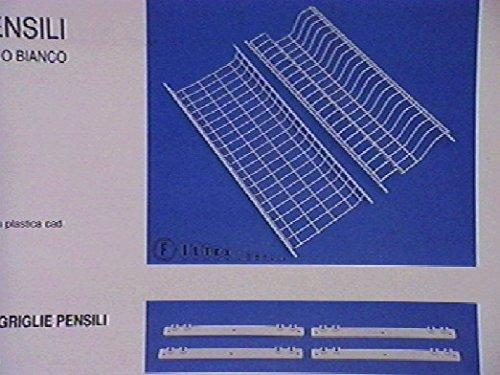 Filtex 2384886 griglie per pensili plastica con supporto 86 utensili da cucina