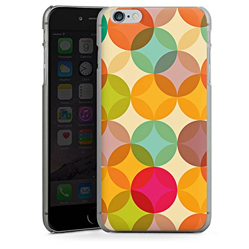 Apple iPhone 4 Housse Étui Silicone Coque Protection Art Abstrait multicolore CasDur anthracite clair