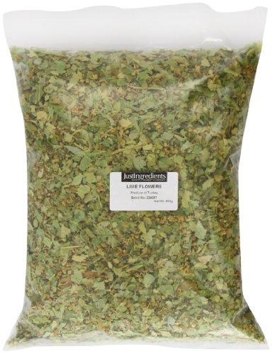 JustIngredients Lindenblüten, Linden Flowers (Lime), 1er Pack (1 x 500 g)