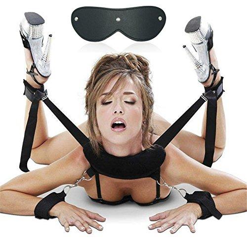 Feifan Shop SM Bondage Set BDSM Fessel Set SM Sex Toy estremamente letti fesseln con manette con maschera per gli occhi per coppie Gays, per principianti e erfahr
