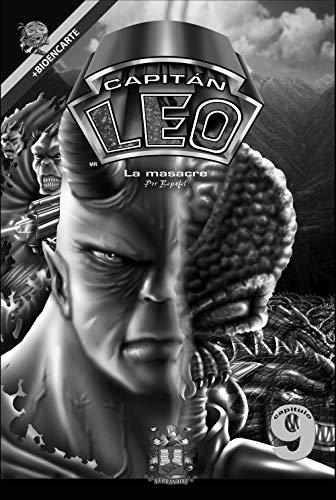 Cómic Capitán Leo-Capítulo 9-Versión Blanco y Negro: Incluye Bioencarte