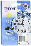 Epson Original T2704 Tintenpatrone Wecker, wisch- und wasserfeste Tinte (Singlepack) gelb