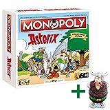 Winning Moves Monopoly Asterix und Obelix Limitierte Collector's Edition + Obelix Figur