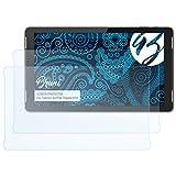 Bruni Schutzfolie kompatibel mit Trekstor SurfTab Theatre K13 Folie, glasklare Displayschutzfolie (2X)