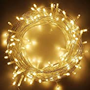 KharidoLive 150 LED Rice String Lights for Decorative Purposes with 8 Pattern Operation for Christmas Lights D