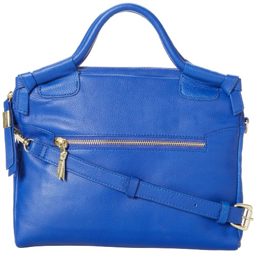 Foley + Corinna City Ipad Femmes Cuir Sac shopping Cobalt