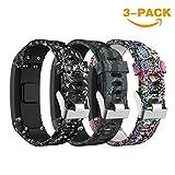 SUPORE Garmin Vivosmart HR Bracelet, Accessoires réglable Silicone Souple Bracelet...