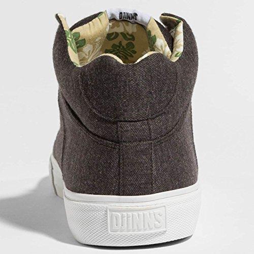 Djinns Herren Sneaker Chunk Jersey Aloha Sneakers Schwarz