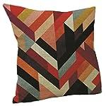 Vanki abstract style Cotton Linen Squ...