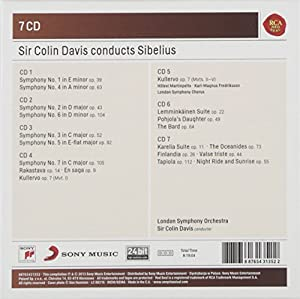 Colin Davis Conducts Sibelius by Sony Music Classical