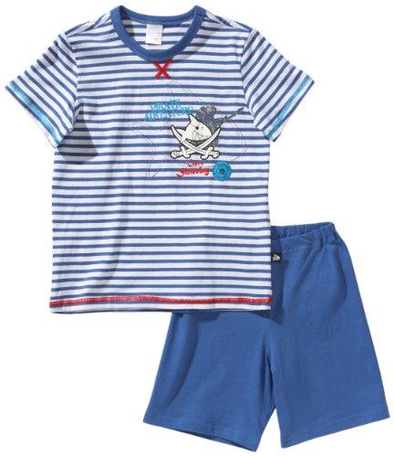 ama Kn Schlafanzug Kurz Blau (800-blau) 140 (8-9Y) ()