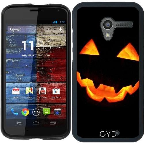 tArtists Hülle für Motorola Moto X (Generation 1) - Halloween Kürbis by hera56 ()