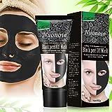 Peel Off Maske, Anti Mitesser Maske, Blackhead Maske, Gesichtsmasken Schwarz, Tiefenreinigung Mitesser Entferner Anti Akne Öl-Kontrolle Purifying, 60g