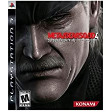 Metal Gear Solid 4 PS3 (輸入版)