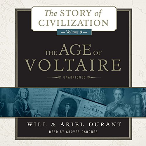 The Age of Voltaire  Audiolibri