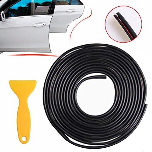 6 m 21 mm x 5 mm Noir autocollante Moulage Bande De Garniture Voiture Tuning Styling À faire soi-même