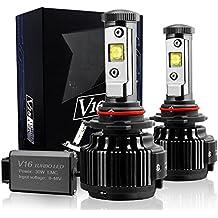 TECHMAX LED Lampadine di conversione Kit H11(H8,H9) 7200LM 60W 6000K luce bianca delle CREE - 3 anni di garanzia