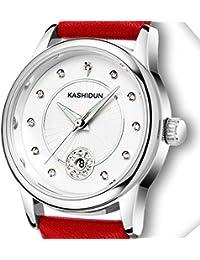 Amazon.es  Relojes de pulsera - Rojo   Relojes de pulsera   Mujer ... 46903d2f069