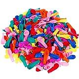 Faburo 1000 Palloncini d'Acqua, Gavettoni, colorato Fluorescente, Facile da riempire 12CM