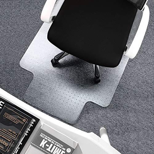 SINKITA Bürostuhl-Matte, durchsichtige Bodenmatte, rutschfest, gegen Stöße, geruchlos, Bodenschutz für Hartholzböden, niedrigem Flor, 2 mm dick, 40x60cm(16x24inch) - 24-zoll-vinyl-sitz