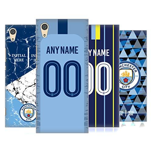 Head Case Designs Manchester City Man City FC Coutume Personnalisé 2018/19 Étui Coque D'Arrière Rigide pour Sony Téléphones 1