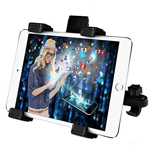 Vegena Tablet Halterung Auto Kopfstütze, Universale Tablethalterungen Kopfstütze Tabletthalterung KFZ Für iPad 2/3/4/Mini/Air, Samsung Galaxy Tab, Microsoft Surface, Google Nexus 6-11 Zoll Tablets
