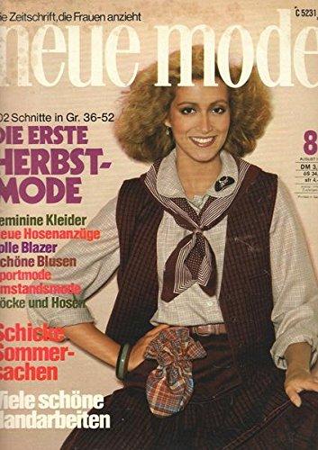 Neue Mode Nr. 08/1978 August/1978 Schicke Sommersachen