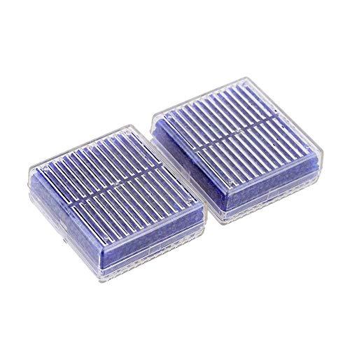 sabsorber - 2 Box Trockenmittel Feuchtigkeit Feuchtigkeitsabsorber Wiederverwendbare Silikageldose - Feuchtigkeits-Pistolen für Lebensmittelschuhe Snake Closets ()