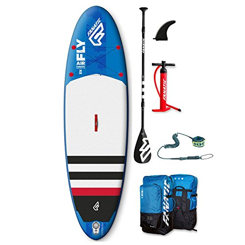FANATIC - Stand Up paddle gonflable Fly Air Stringer 2017 - 9'8 BLEU