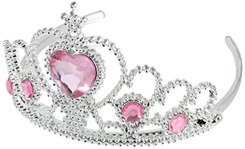 Sourcingmap Mariage en forme de cœur Strass Couronne Bandeau, Rose
