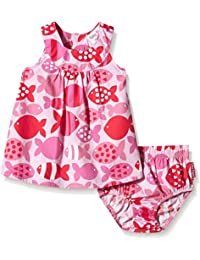 Toby Tiger Baby Girls' Fish Summer Party Dress