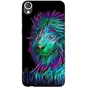 ABSTRACT LION BACK COVER FOR HTC 626