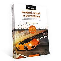Idea Regalo - Regalbox - Motori, Sport e Avventura 2019 - Cofanetto Regalo