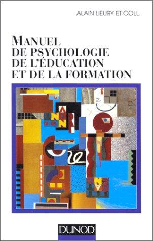 Manuel de psychologie de l'éducation et de la formation