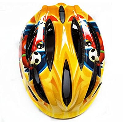 Children's Bike Helmet - Adjustable From Toddler To Teenager, 3-10 Years Old - Durable Children's Bicycle Helmet With Fun Water Design Boys And Girls Will Love from LZJ