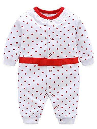 ARAUS Unisex Baby Strampler Neugeborenes Kletterkleidung Baumwolle für Kinder 0-12 Monate