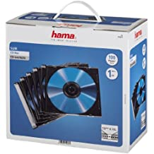 Hama CD Slim Carcasa s, 100 piezas